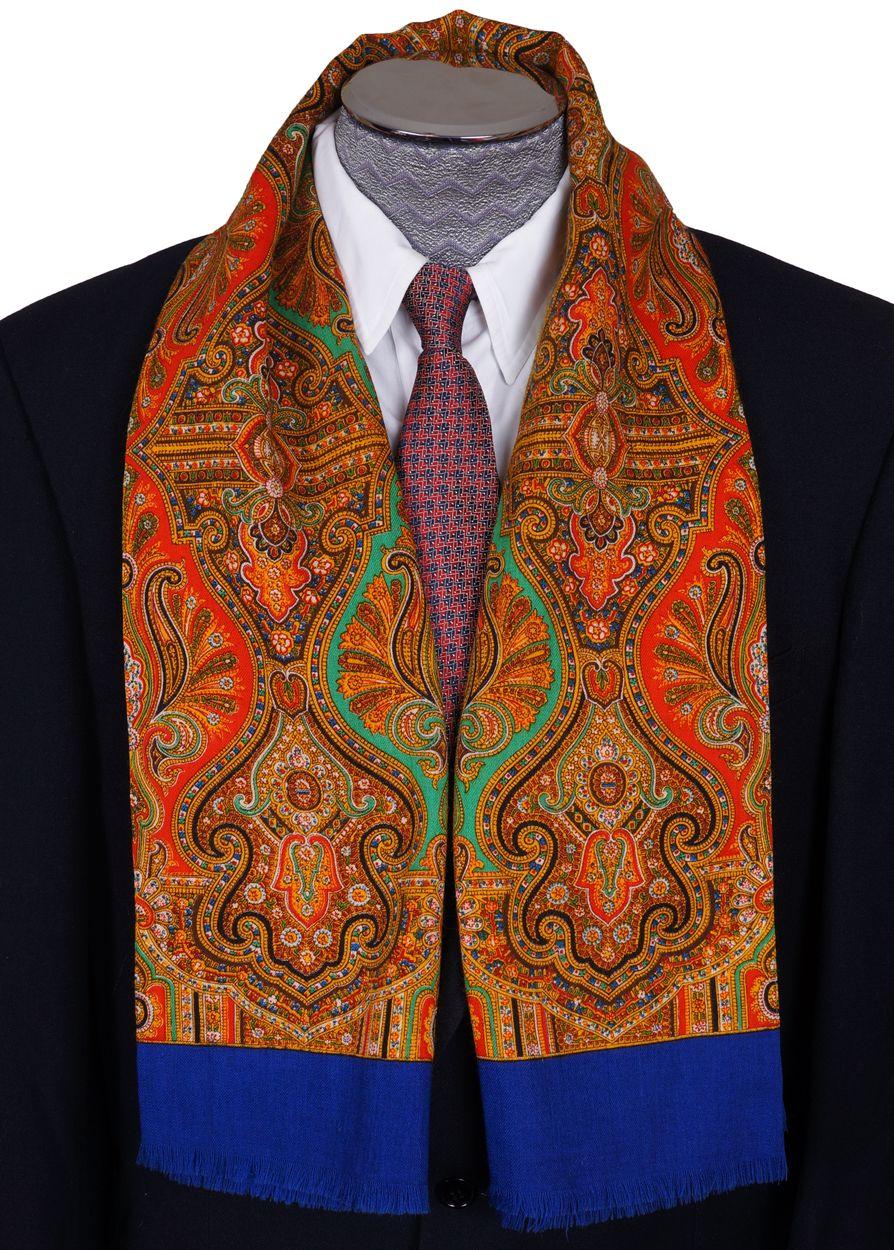 paisley wool fabric vintage foulard paisley mens opera