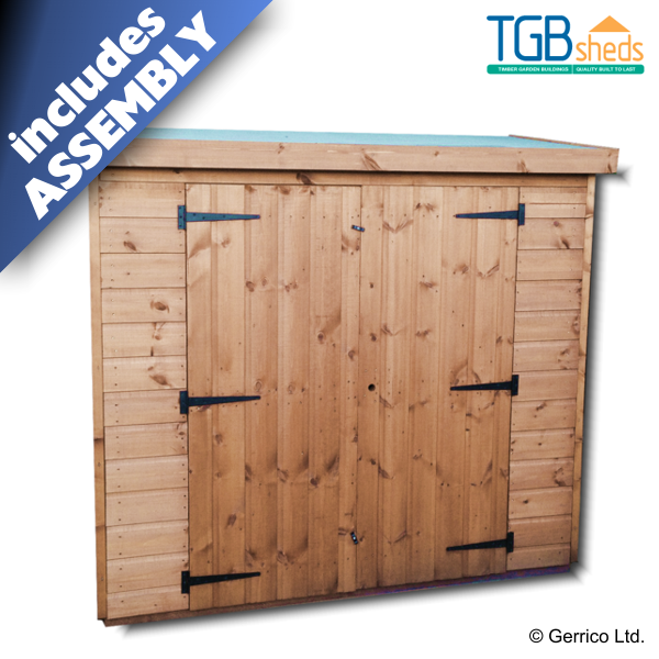 Tgb Garden Tidy Storage Shed Free Delivery Assembly Quality Wooden Storage Shed