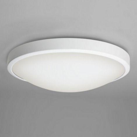 76€ astro lighting plafonnier rond osaka salle de bain d31 cm blanc