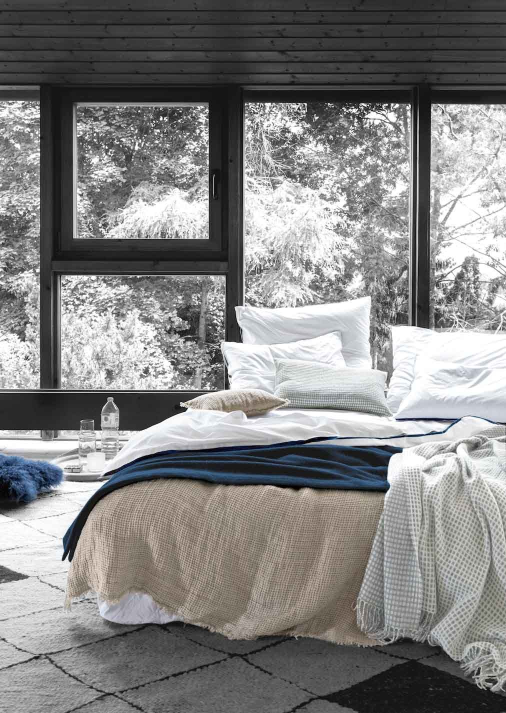 Hygge Wohntrend Schlafzimmer & Wohnung gemütlich