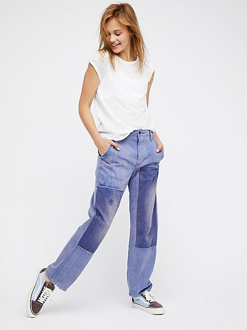 09aa5c2d68f2ff Product Image: Slouchy Patched Boyfriend Jeans | HIPPIE BOHO 70S ...