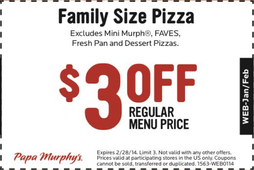 papa murphy s printable