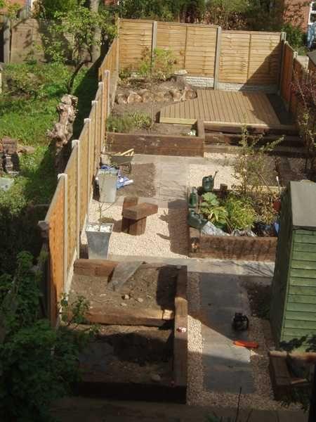 sil landscapes three projects with railway sleepers 2 railway sleepersgarden ideas - Garden Design Using Sleepers