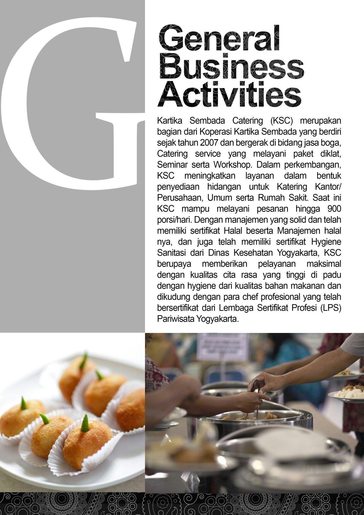 Company Profile Catering Design Company Profile Web It