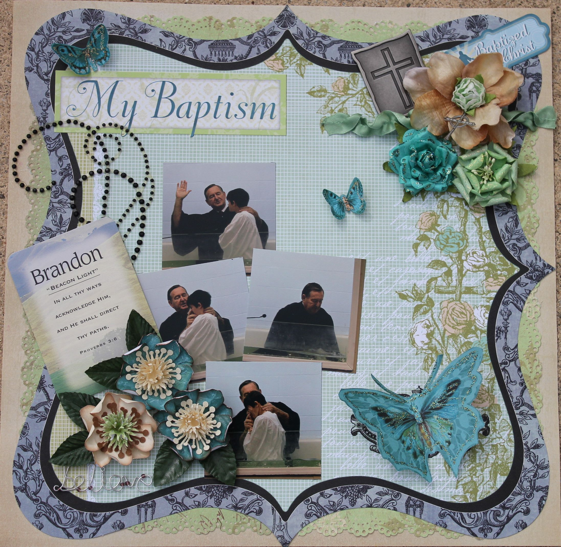 Scrapbook ideas and quotes - Baptism Quotes For Scrapbooking Quotesgram