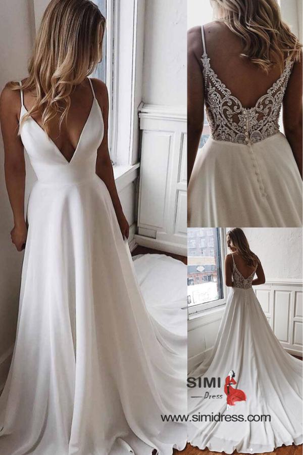 Photo of 😍😍 Trendy simple wedding dress