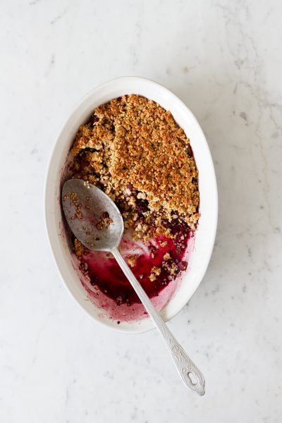 Best baked crumble. Vegan and Gluten Free.