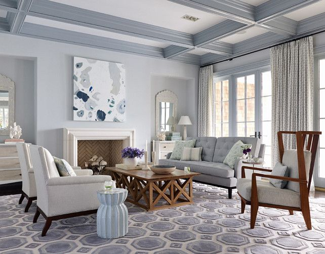 Best Wall Paint Color Benjamin Moore 1591 Sterling Ceiling 400 x 300