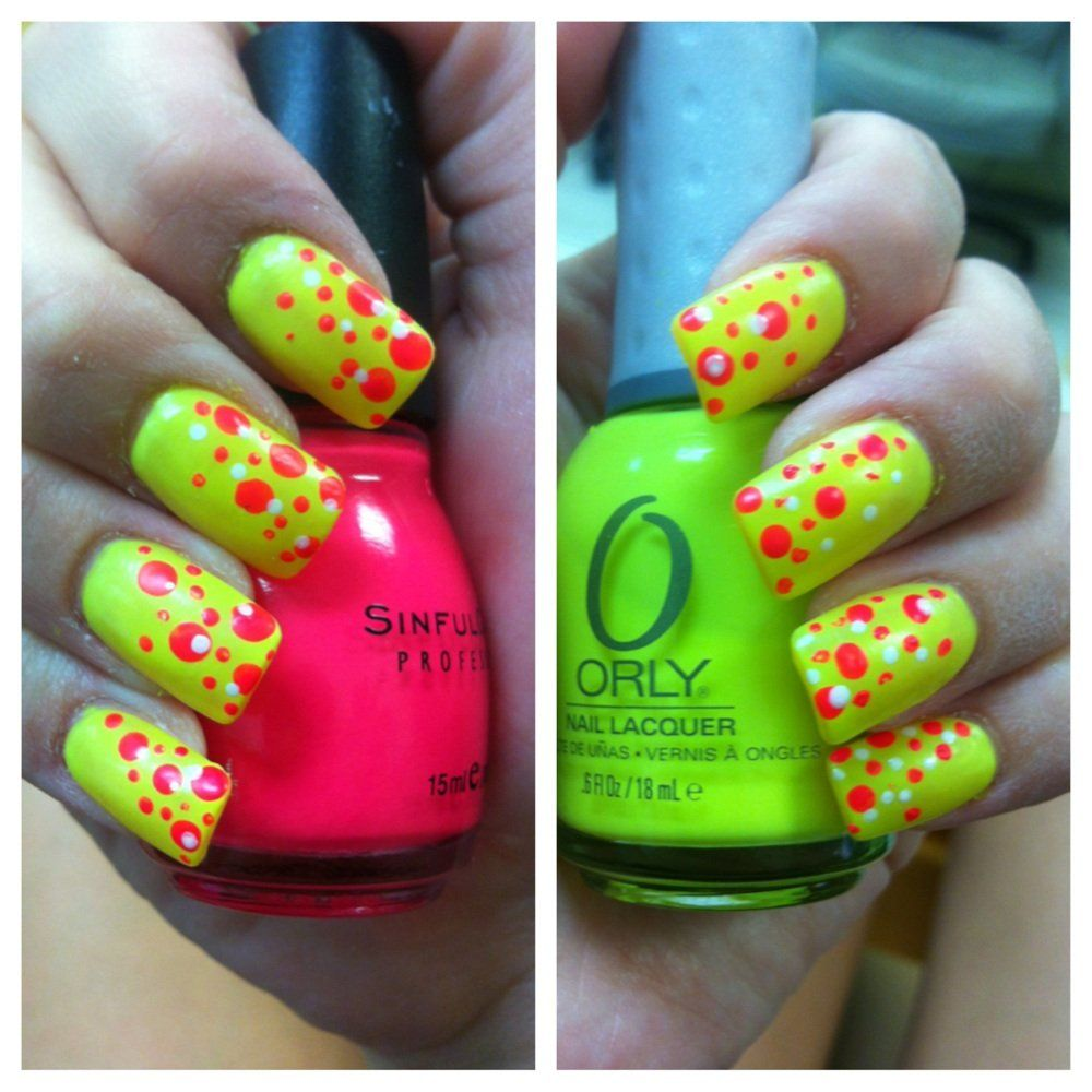 Orly has a neon yellow!? How did I not know   Uñas   Pinterest ...