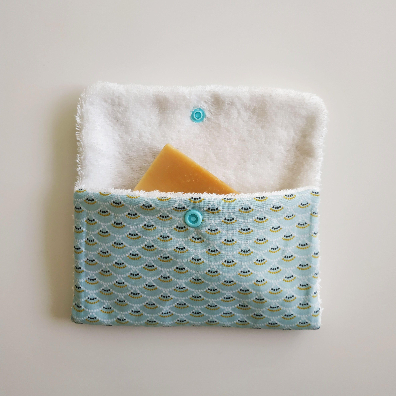 Coudre une pochette de savon   – Couture