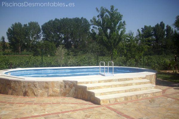 piscina elevada de xxcm pertenece a la serie atlantis de piscinas gre tras