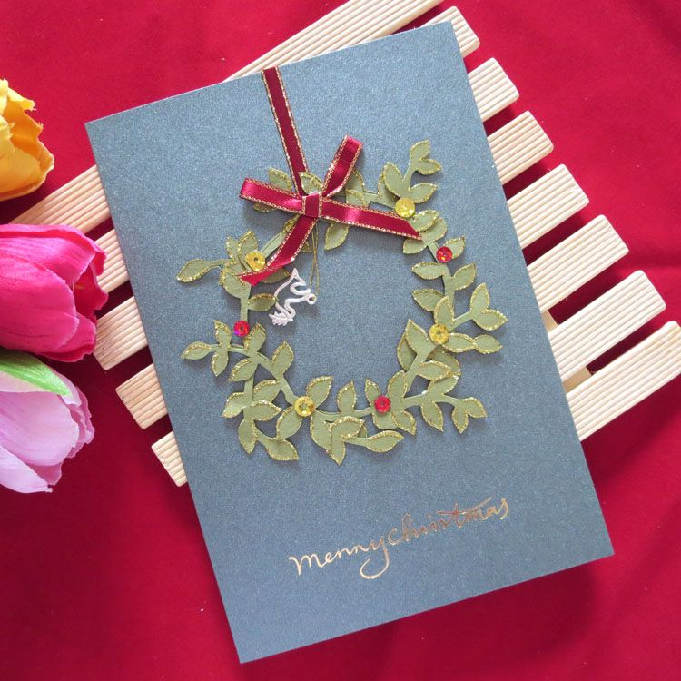 7 handmade new year cards most amazing collection 7