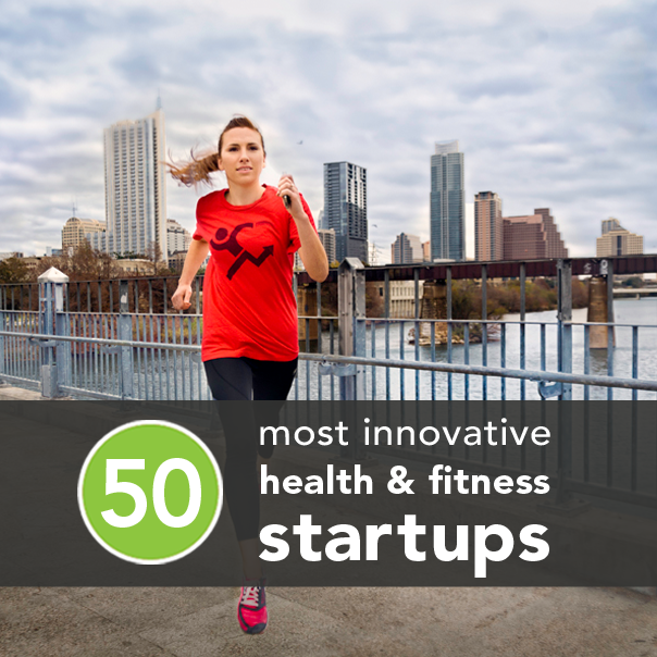 The 50 Most Innovative Health Fitness And Happiness Startups Health Fitness Workout Apps Health And Fitness Tips