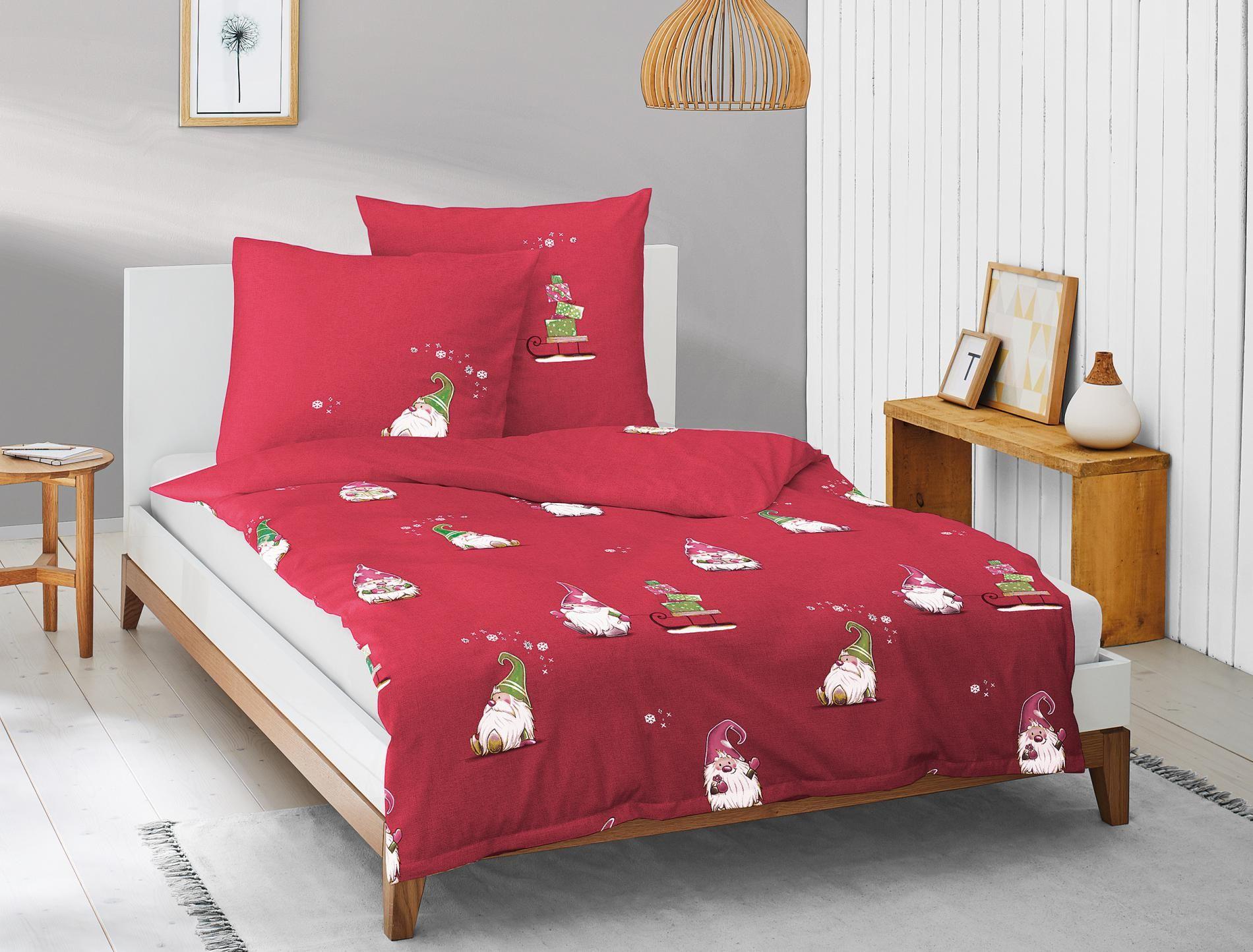 Die Kleinen Wichtel Sind Unterwegs Bettwäsche Bett Ideen Feinbiber Bettwäsche