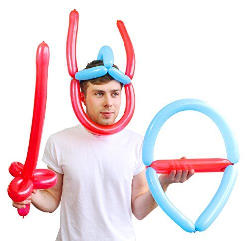 SUCK UK Warrior Weapons - Balloon Modelling Kit - Current price: USD $12.0 (20% OFF) - Track it on NOTIVO.COM - #Kitchens, #SuckUKs - SUCK UK Warrior Weapons - Balloon Modelling Kit