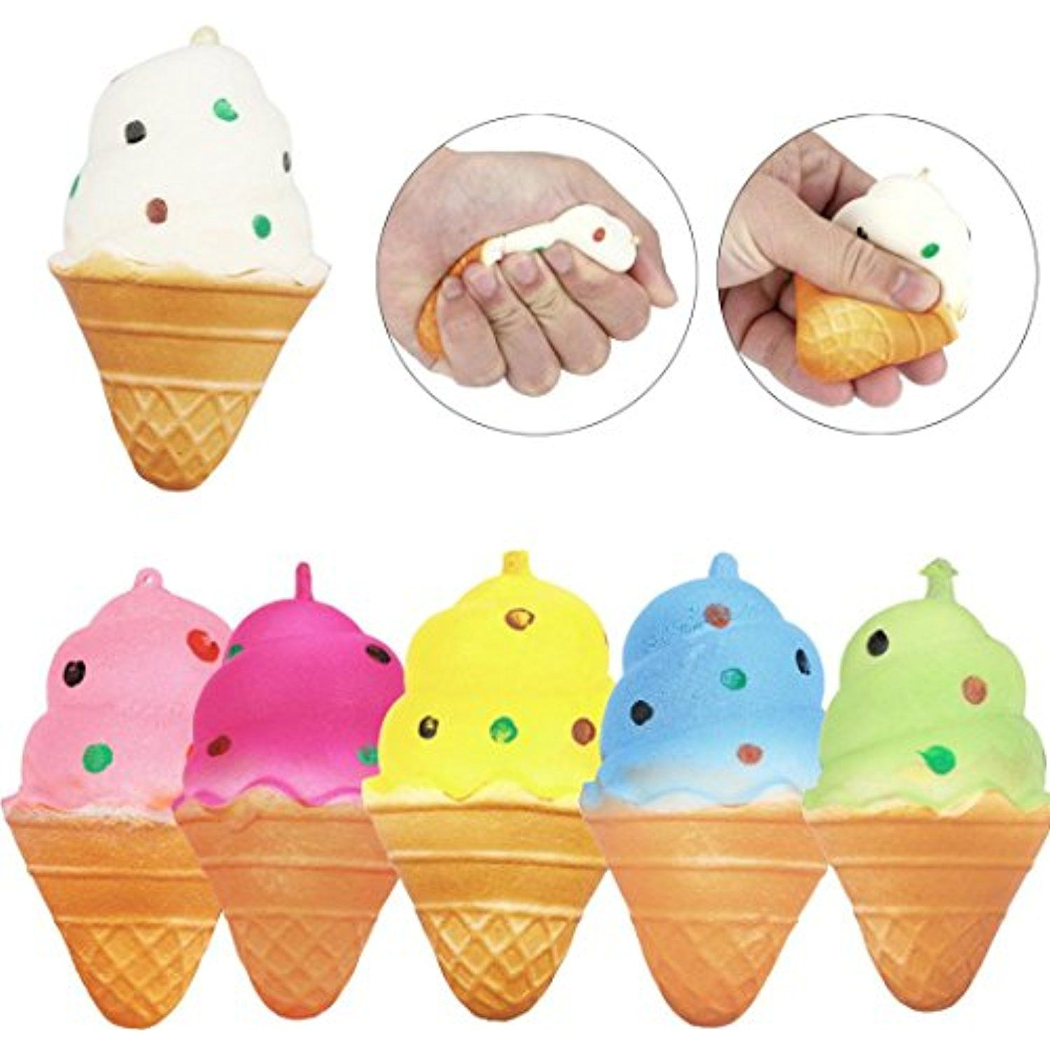 Kids Toy Dressin Ice Cream Squeeze Healing Relief Toys For you