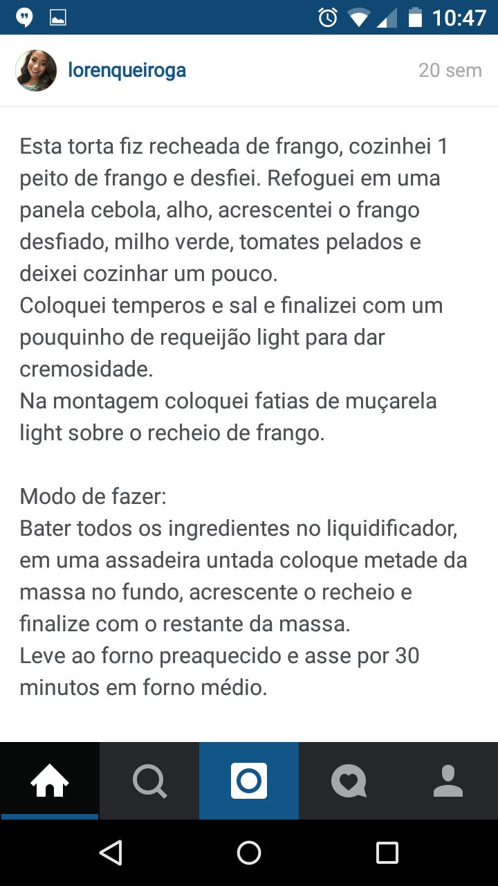 torta integral de liquidificador 2
