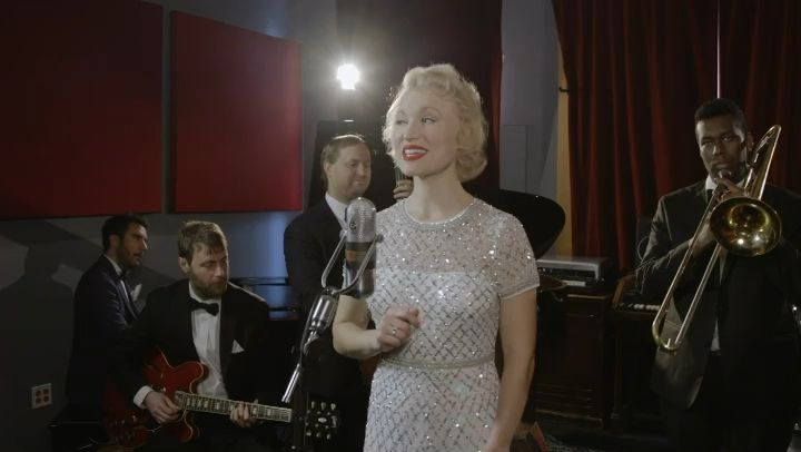 """""""This Christmas"""" written and performed by Fleur Seule (aka Allyson Briggs). Enjoy this Christmas music video set in NYC! #hallmark #hallmarkchannel #christmas #christmasmovies #vintage #nyc #musicvideo #video #jazz"""