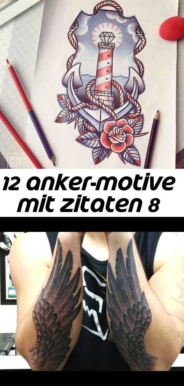 12 ankermotive mit zitaten 8  hand tattoos hand henna