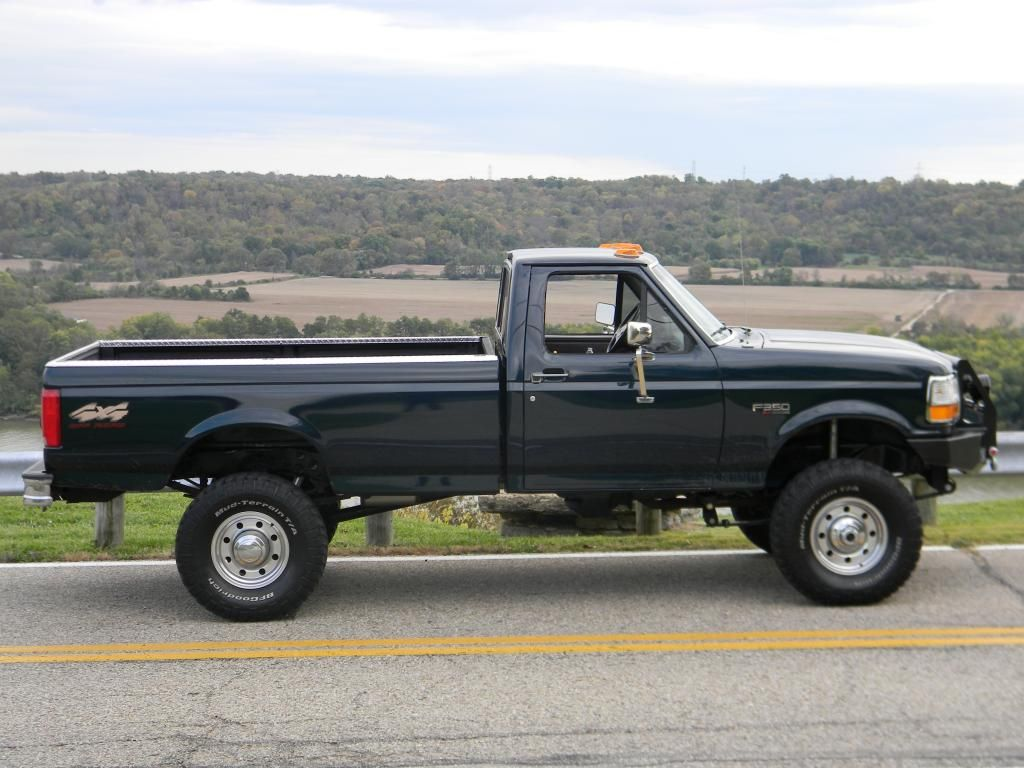 "Page 45 - PowerStrokeNation : Ford Powerstroke Diesel Forum 1997 f350 460  ZF5 RCLB 2.25 PMF RSK U codes with 5"" readylift block in rear on 35' bfg M/T"