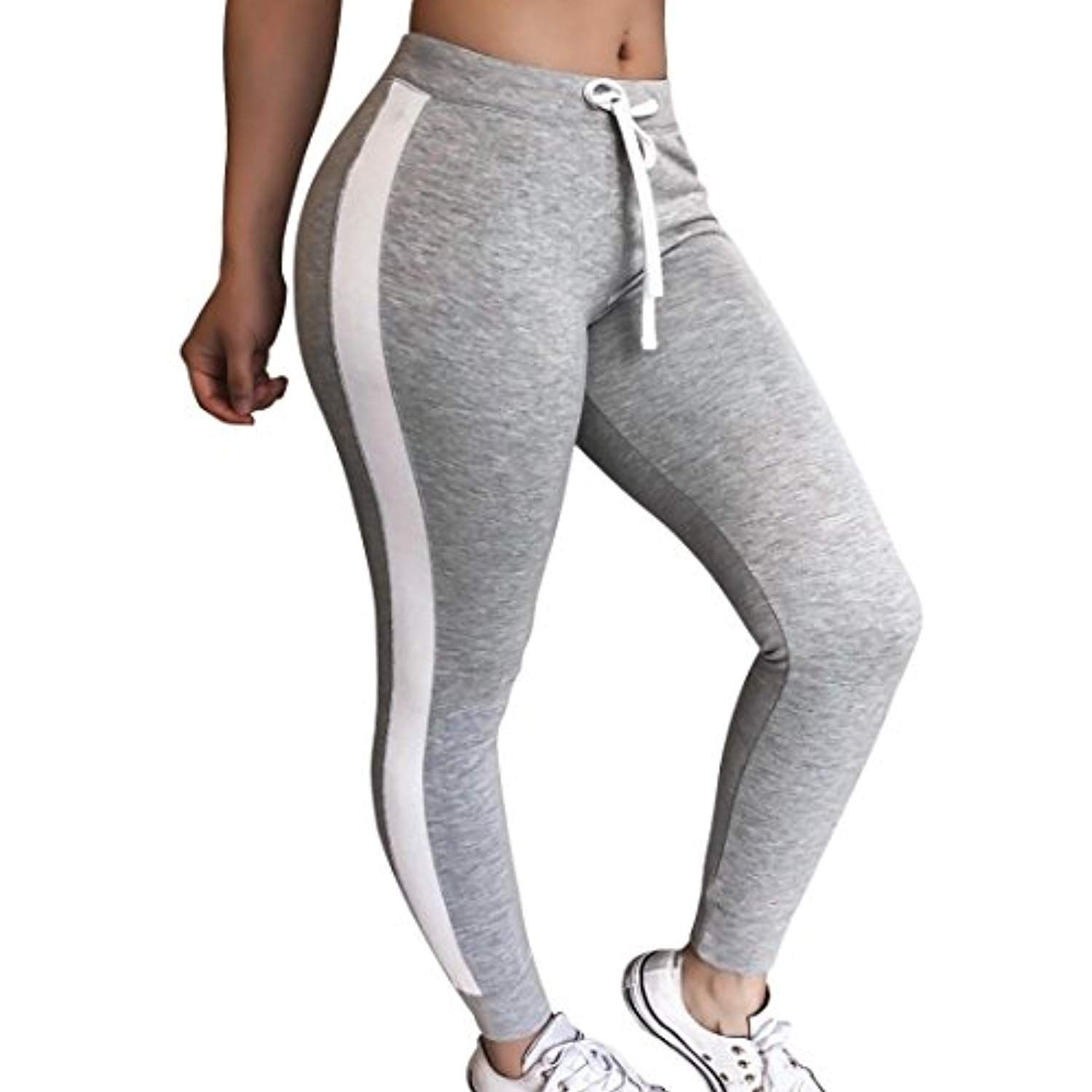 f43698febe Women Striped Drawstring Pants Women Bowtie Sports Casual Pants Sweatpants  Tight Youth Girls Exercise Outfits ** Click image for more details.