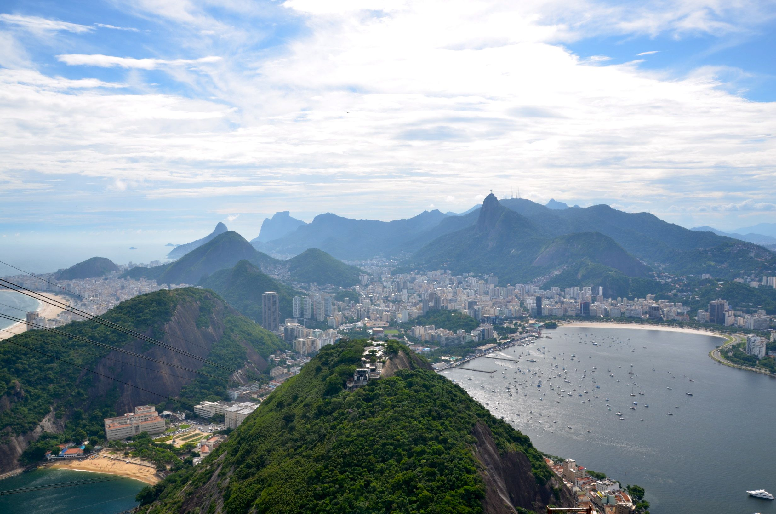 "let me take you to rio, to rio""our whole family's dream vaca"