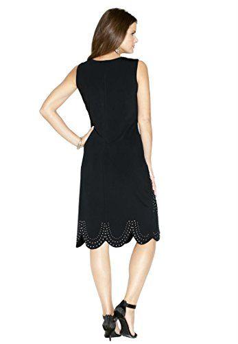 Roamans Women's Plus Size Beaded Deco Dress  http://www.effyourbeautystandarts.com/roamans-womens-plus-size-beaded-deco-dress/
