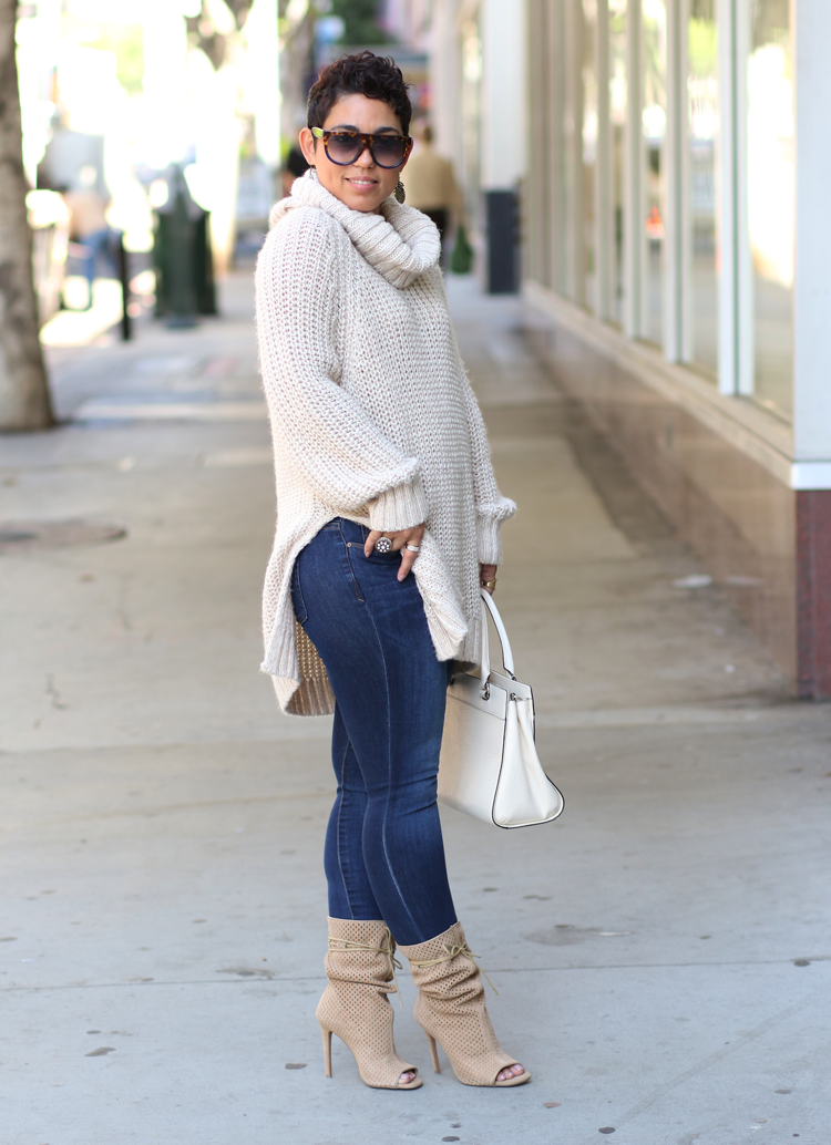 Huge Sweater The Best Boots Ever Fashion Womens