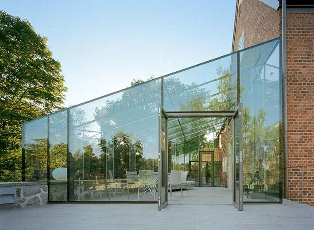 media for glass pavilion openbuildings glass rooms pinterest