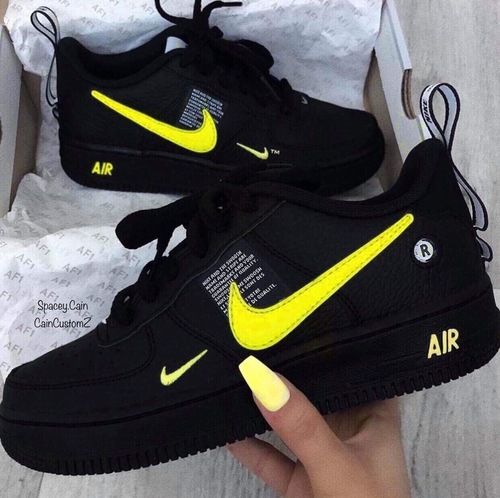yellow air force 1 utility
