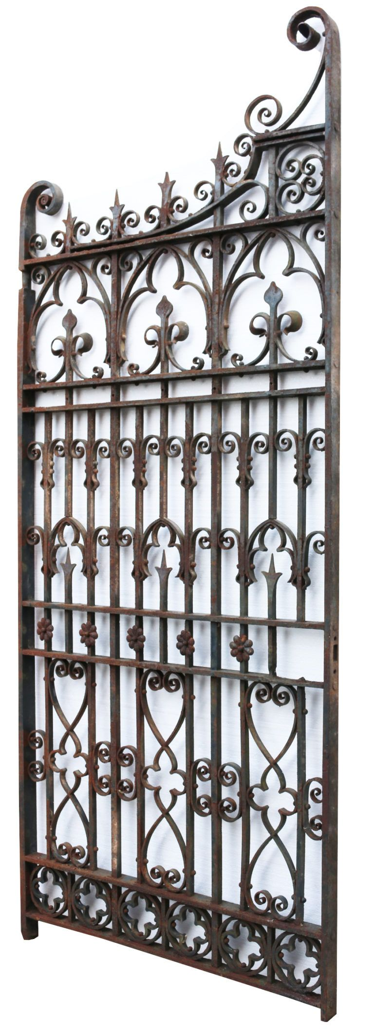Antique English Wrought Iron Garden Gate Uk Heritage Iron Garden Gates Wrought Iron Garden Gates Wrought Iron