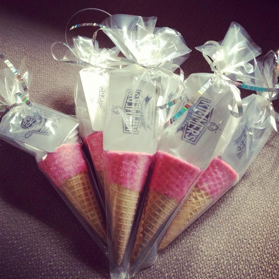 Pick up our gift cards specially packaged with a sparkle cone to