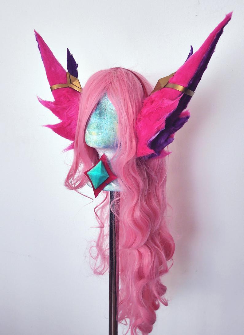 Ears for Star Guardian Xayah or Rakan cosplay