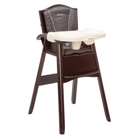 Eddie Bauer Wooden High Chair Cover Wood High Chairs Baby High