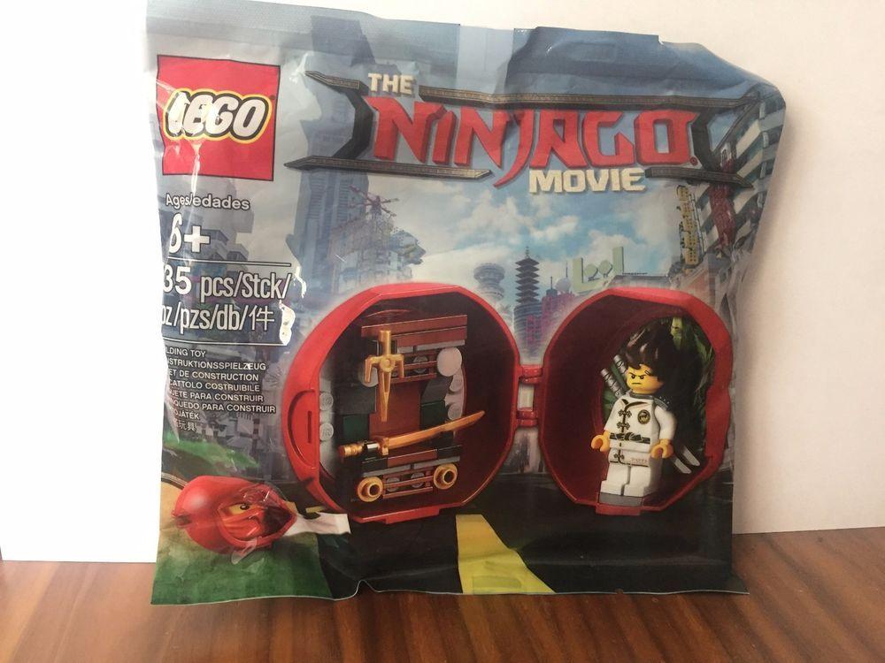 Lego Ninjago Masters of Spinjitzu Dareth vs Nindroid 5002144 Polybag BNIP