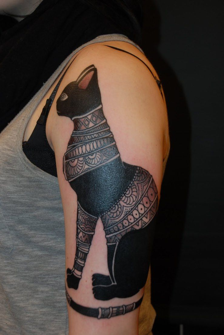 egyptian cat tattoo designs … | pinteres…