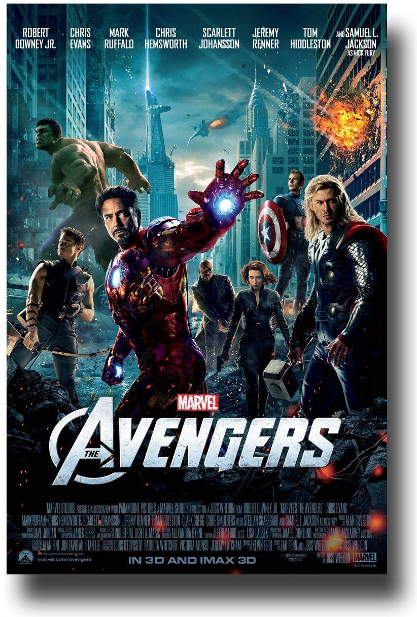The Avengers Com Imagens 2012 Filme Avengers Filme The Avengers