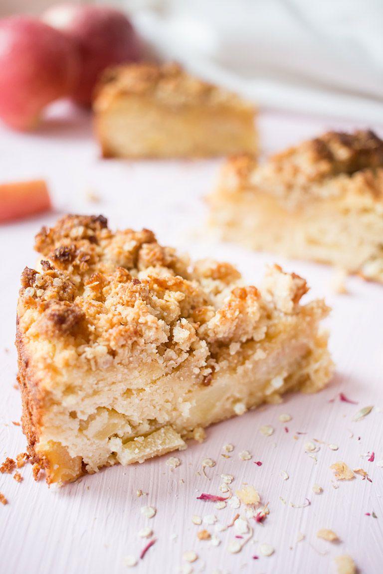 Gesunder Apfel Quinoa Streuselkuchen Low Carb Low Carb