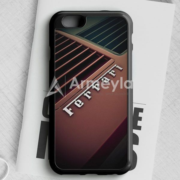 Red Ferrari iPhone 6/6S Case   armeyla.com