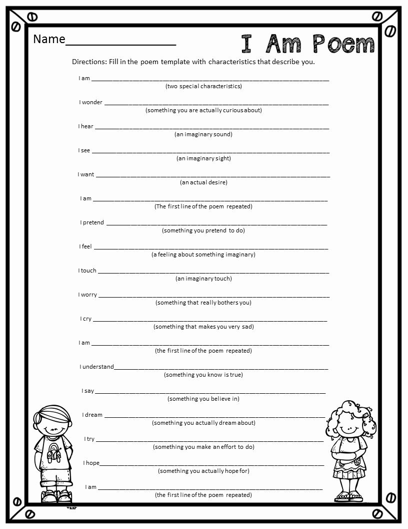 I Am Poem Worksheet Lovely Who S Who And Who S New I Am Poems A Fun End Of The Year In 2020 I Am Poem Poem Template Teaching Poetry