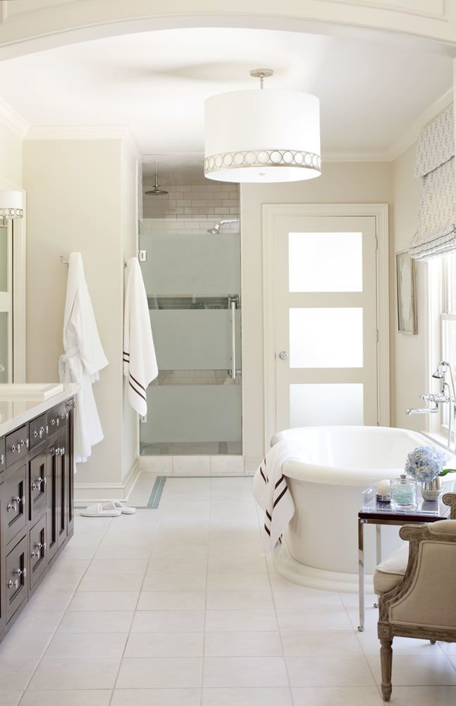 Traditional Bathroom photo by Tobi Fairley Interior Design