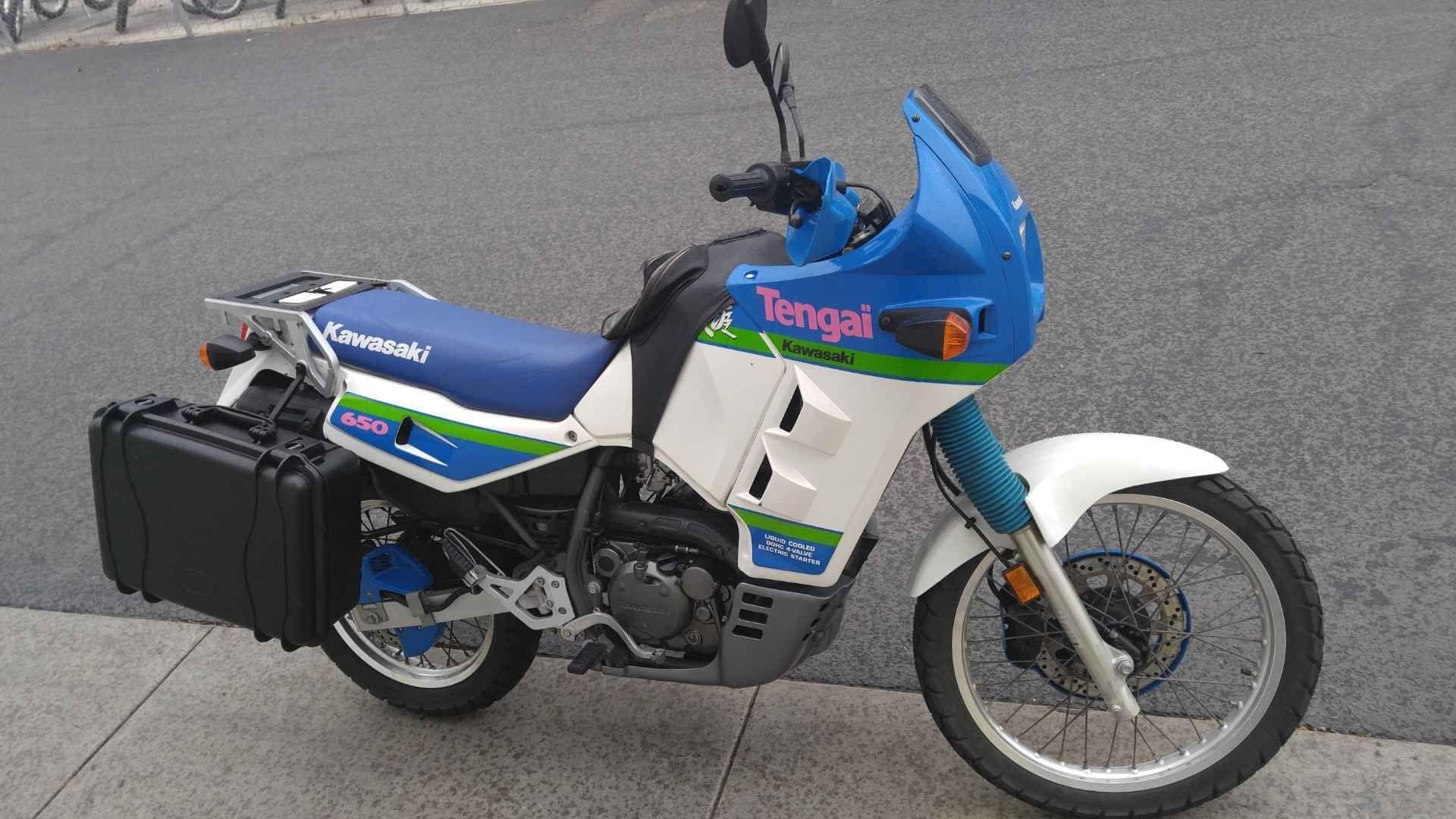 1990 Kawasaki KL650 Kawasaki motorcycles, Kawasaki
