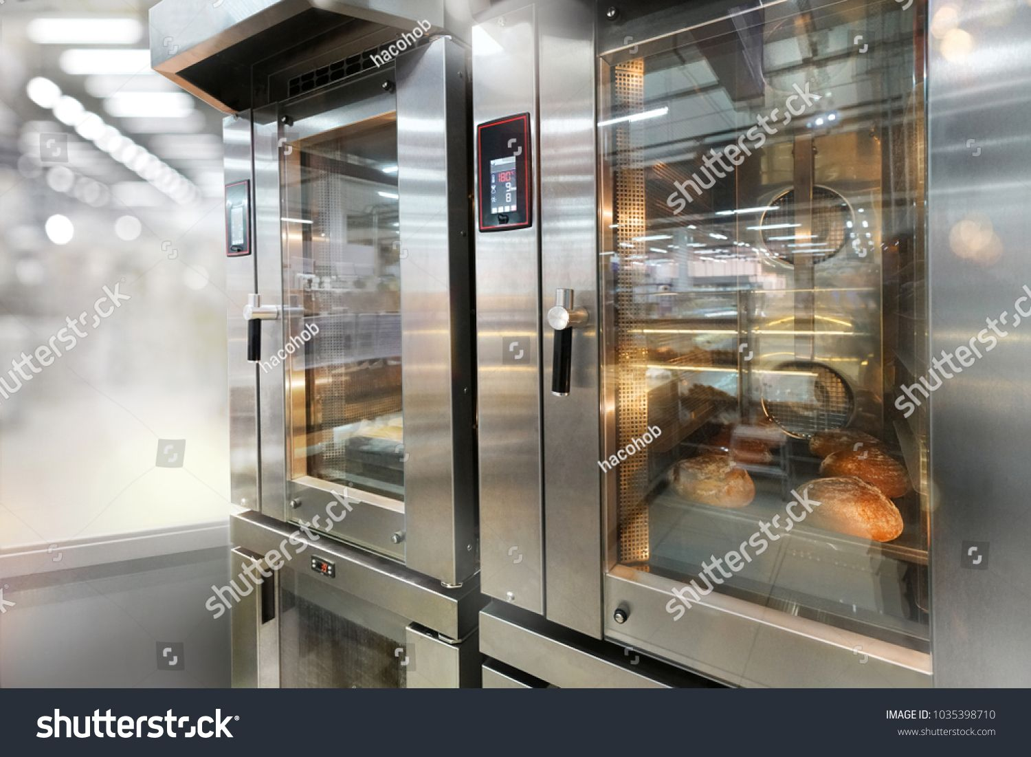 Commercial Bread Ovens With Glass Doors Royalty Free Image Photo In 2020 Bread Oven Glass Door Commercial Ovens