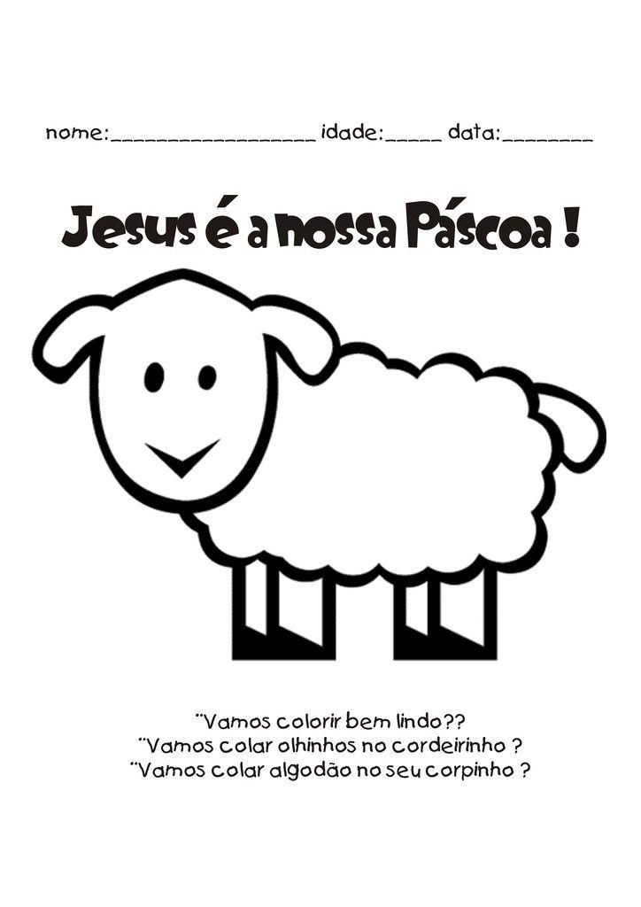 Imagens Evangelicas De Pascoa Para Colorir Com Imagens