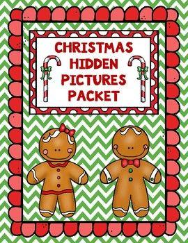 Christmas Hundreds Chart Hidden Picture Packet | Christmas ...