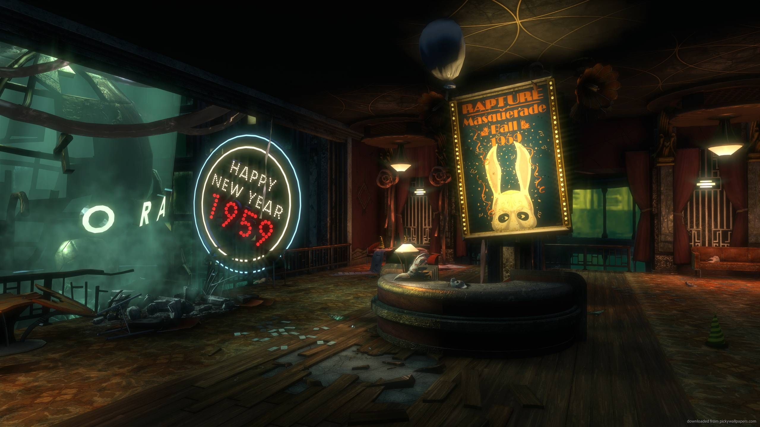 bioshock rapture wallpapers with hd desktop 2560x1440 px 27368 kb