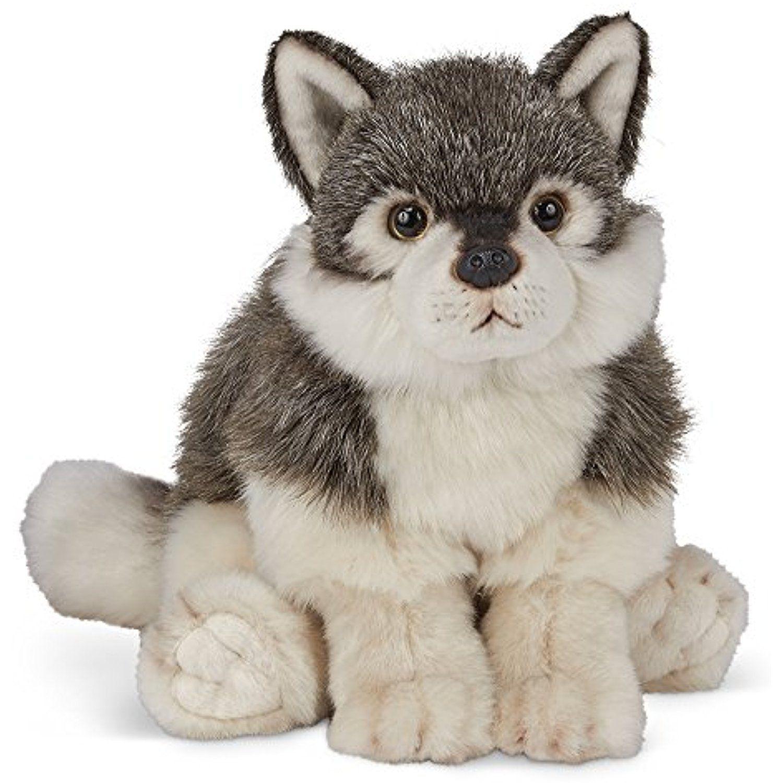 Bearington Nanook Stuffed Animal Grey Wolf Toy 13 Want Additional Info Click On The Image Thi Teddy Bear Stuffed Animal Plush Stuffed Animals Plush Dog [ 1500 x 1500 Pixel ]