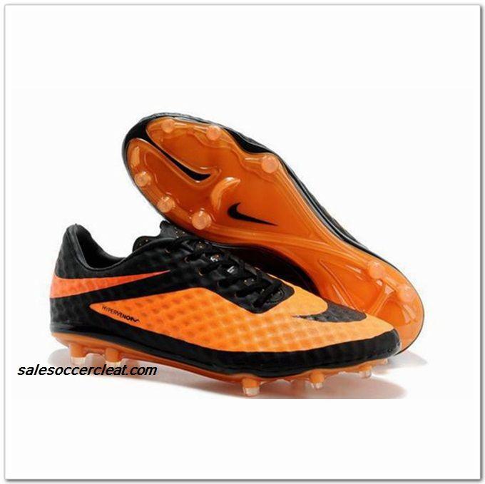 89252e9833e Nike Hypervenom Phantom FG 2014 Black Citrus  60.00