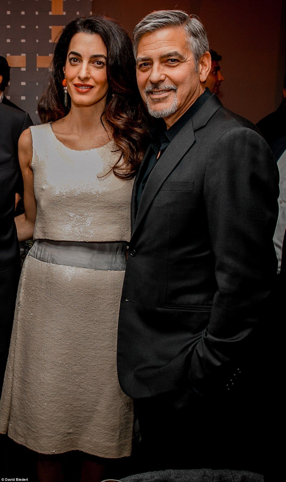 George Clooney and his darling officially sealed their relationship 09/29/2014 84
