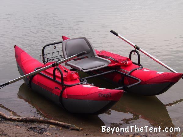 Skagit pontoon fun and affordable fishing rec boat for Fish camping boat